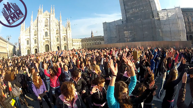 flash mob milano