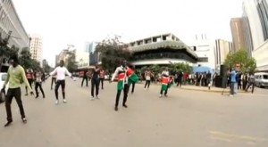 Dance Flash Mob in Kenya