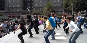 Dance Flash Mob Michael Jackson