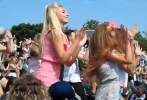 Dance Flash Mob a Wimbledon 2012