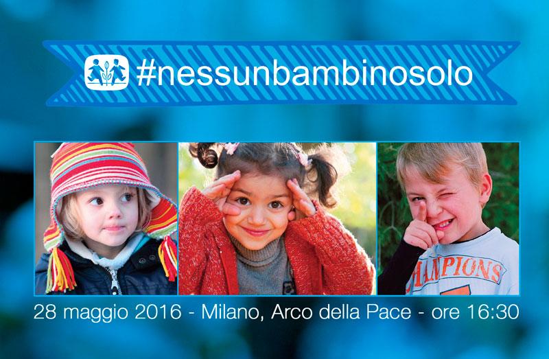 appuntamento all'evento con tre bambini #nessunbambinosolo