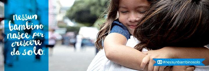 testata evento nessun bambino nasce per crescere da solo #nessunbambinosolo