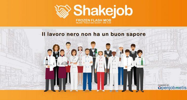 Openjobmetis ti invita a partecipare al Frozen Flashmob dedicato all'App Shakejob!