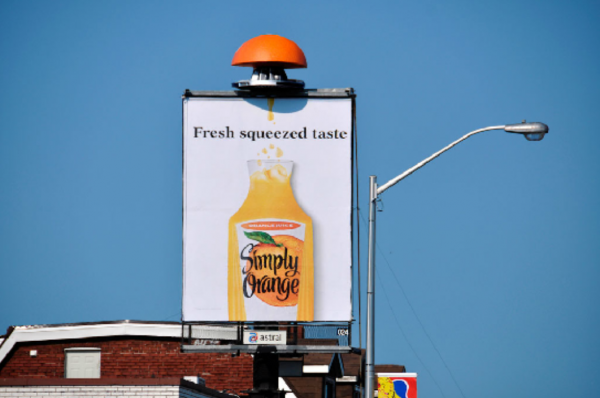 Ambient marketing:il caso Simply Orange