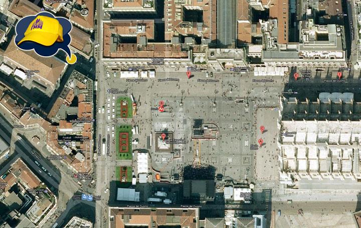 Gli ultimi dettagli prima di ballare in Piazza Duomo con Grease