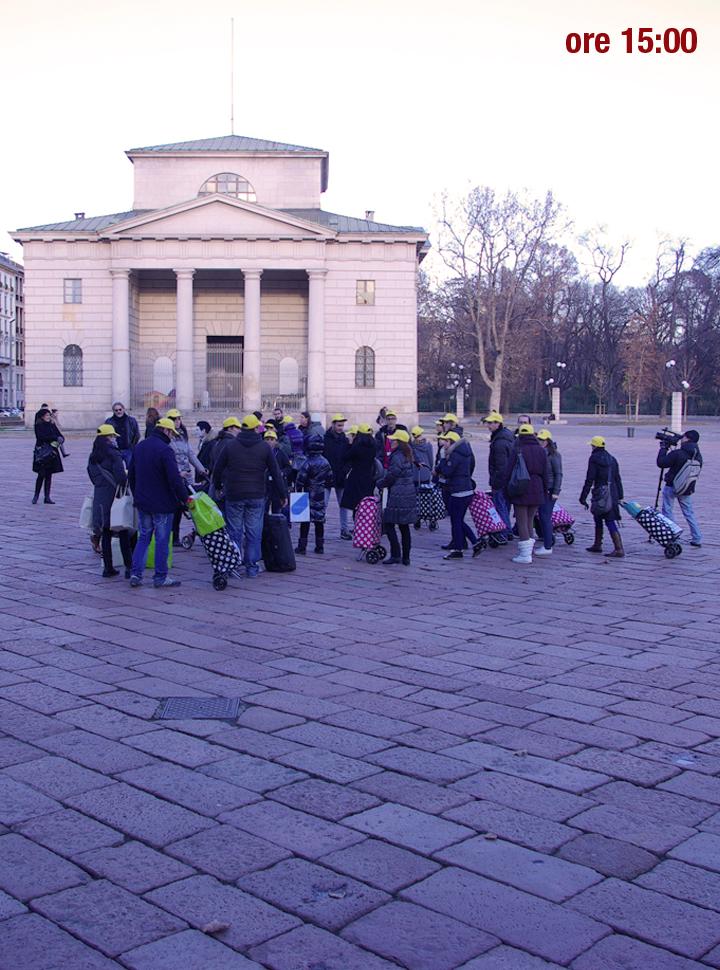 raggruppamento crew flash mob milano merry flashmas 17 dicembre 2011