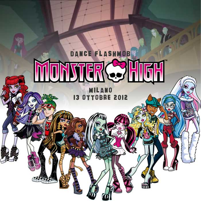 dance flash mob monster high personaggi