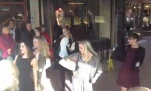 Fashion Dance Flash Mob a Chester