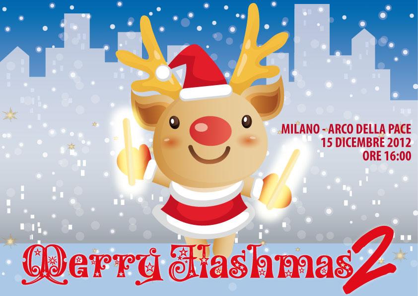 Merry Flashmas2 - l'albero di Natale vivente luminoso