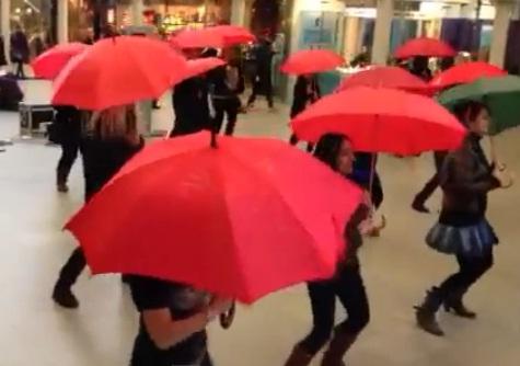 Flash Mob volontari
