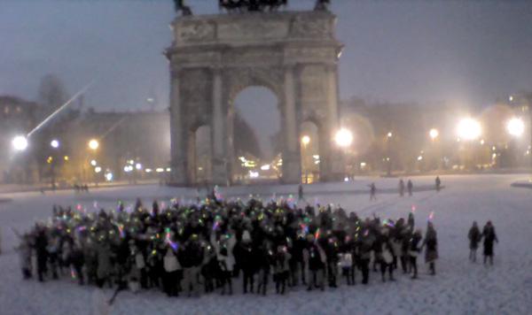 Merry Flashmas2, a Milano le emozioni arrivano anche dalla rete