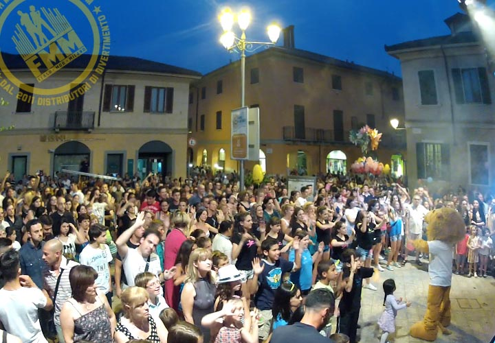 Musica e divertimento per il primo flash mob show in Brianza!