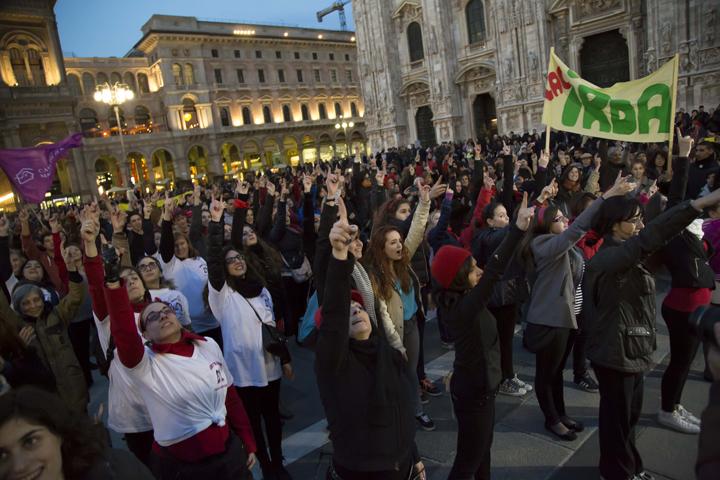 OBR Milano contro la violenza sulle donne