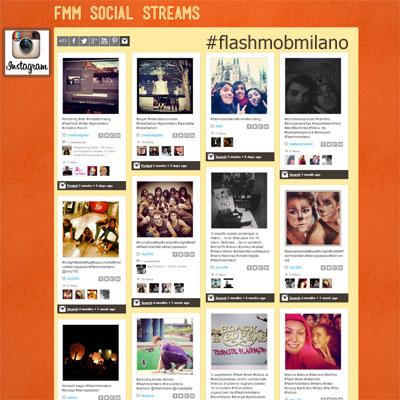 esempio pagina social streams instagram