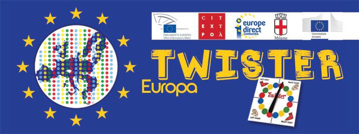 VIENI A GIOCARE CON NOI AL MEGA TWISTER EUROPA!