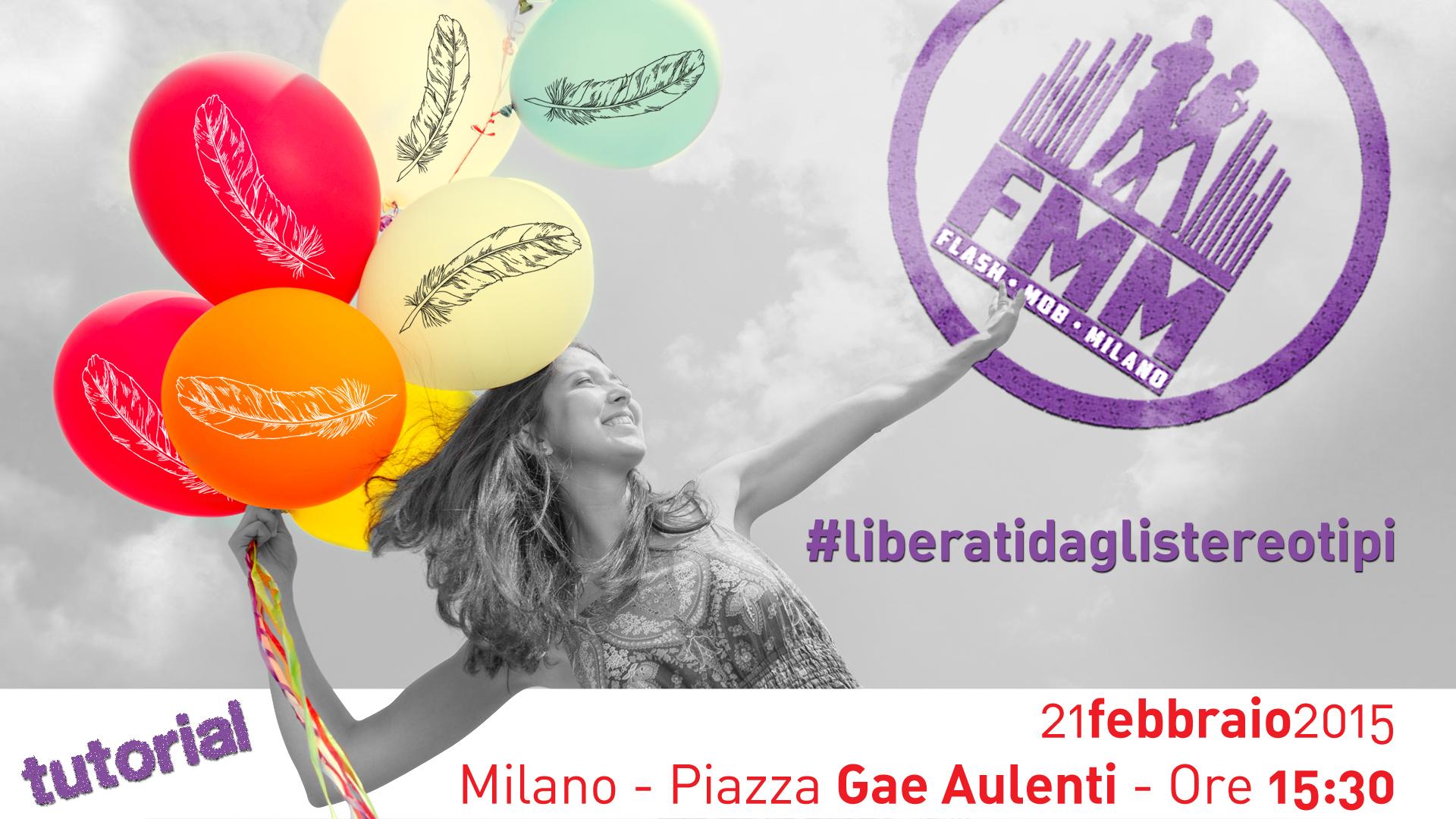"""""""Liberati dagli stereotipi"""" dance flash mob spostato a Domenica 22 Febbraio!"""