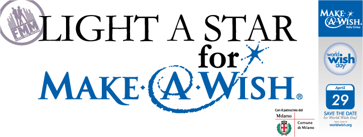 "Mercoledì 29 Aprile: ""LIGHT A STAR for MAKE-A-WISH®"" FLASHMOB!"