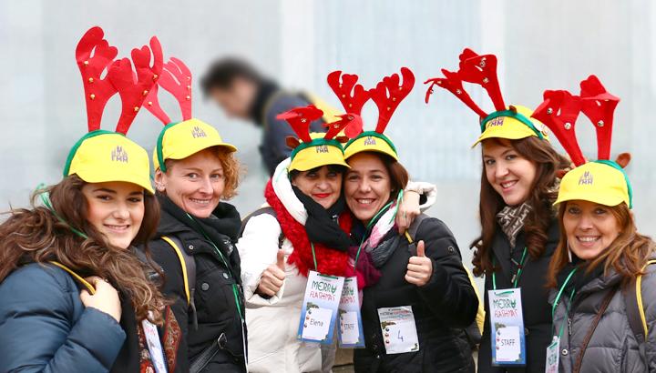 Staff di volontari per un evento organizzato da Flash Mob Milano